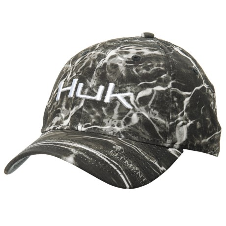 Huk s Elements cap offers classic ball-cap styling with an embroidered logo  on the front 4c043fcf1cb5