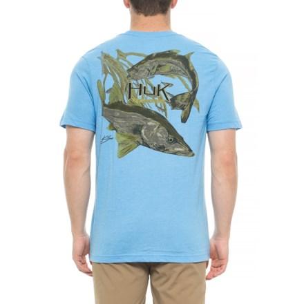 c2e4784580c Huk KC Scott Snook City T-Shirt - Short Sleeve (For Men and Big
