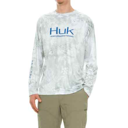 Huk Kryptek High-Performance Shirt - Long Sleeve (For Men and Big Men) in Kryptek Yeti Royal - Closeouts