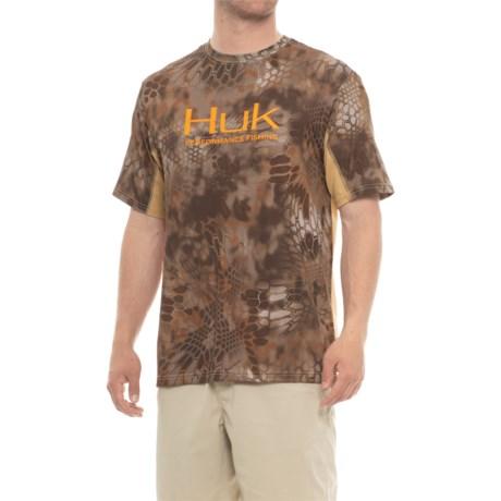 Huk Kryptek ICON Shirt - Short Sleeve (For Men) in Kryptek Banshee