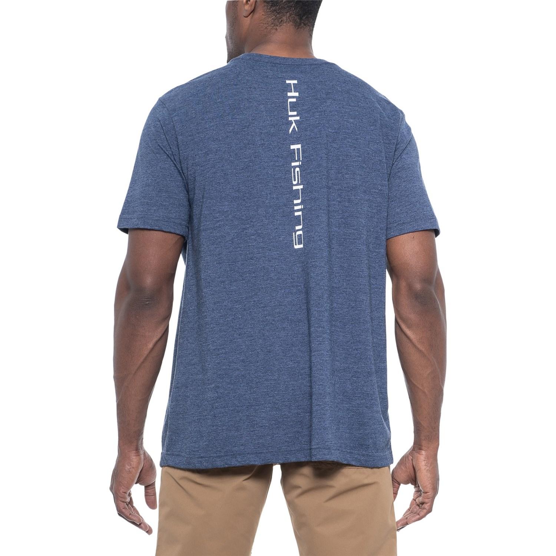 79f00d2fb Huk Logo T-Shirt - Short Sleeve (For Men and Big Men)