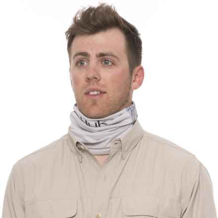Huk Next Level I.C.E. Neck Gaiter (For Men) in Kaos Grey - Closeouts