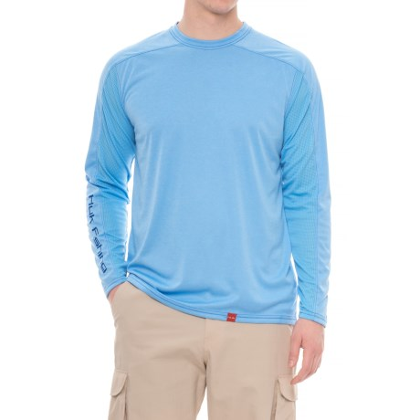 Huk Next Level ICE T-Shirt - UPF 30+, Long Sleeve (For Men and Big Men)