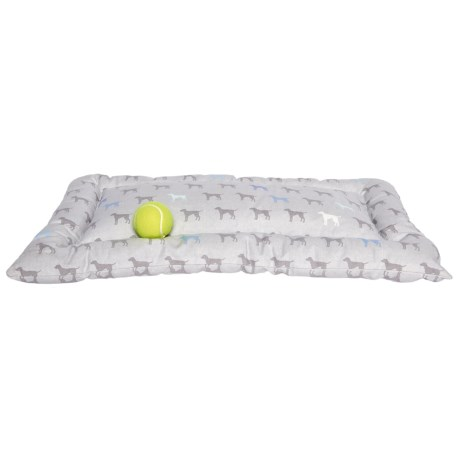 """Humane Society Dog Crate Mat - 19x30"""" in Blue/Grey"""