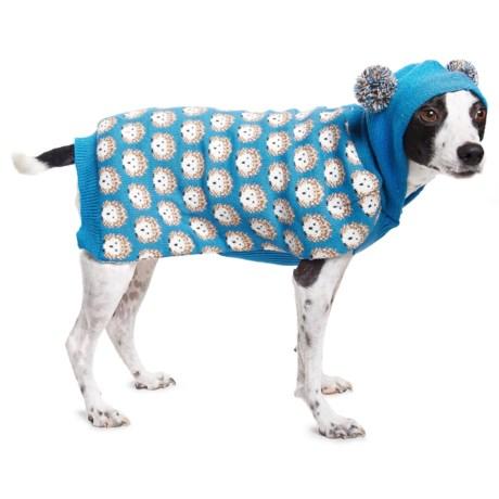 Humane Society Herman Dog Sweater in Blue