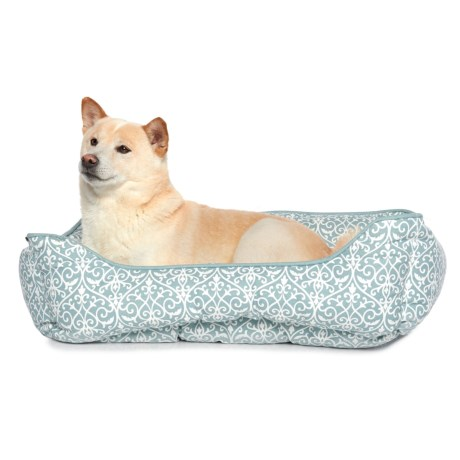 """Humane Society Iron Gate Cuddler Dog Bed - 19x24"""" in Almost Grey"""