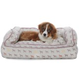 Humane Society Mono Multi-Dog Bolster Dog Bed - 36x27""