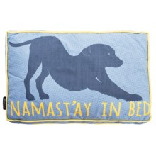 """Humane Society Namast'ay Dog Bed - Large, 27x36"""" in Federal Blue - Closeouts"""