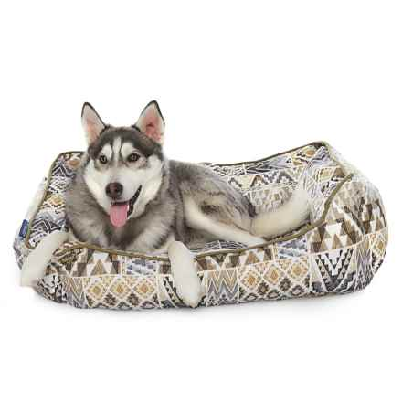 """Humane Society Southwest Dog Reversible Lounger Dog Bed - 28x22"""" in Neutral - Closeouts"""