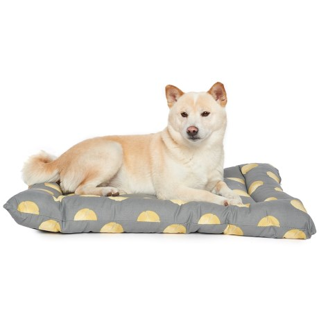 "Humane Society Tennis Balls Dog Crate Mat - 19x30"" in Grey"