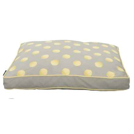 """Humane Society Tennis Balls Rectangle Bed - 27x36"""" in Tan - Closeouts"""
