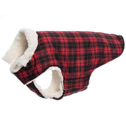 Humane Society Wyatt Dog Jacket - Extra Large Dog in Red - Closeouts