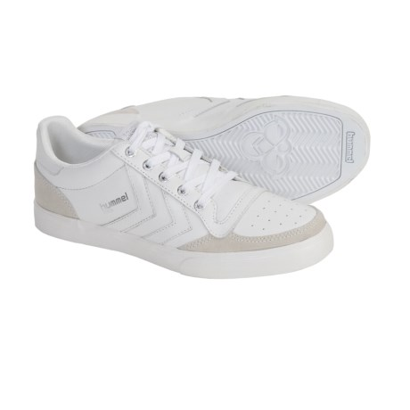Hummel Stadil Low Top Shoes - Leather, Sneakers (For Men) in White