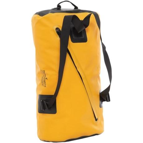 Hummingbird Carousel Zip Travel Bag - 75L in Yellow