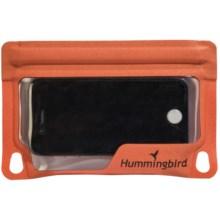 Hummingbird E-Case - Waterproof, Large in Orange - Closeouts