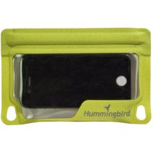 Hummingbird E-Case - Waterproof, Medium in Green - Closeouts
