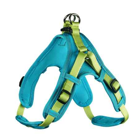 HUNTER Neoprene Vario Quick Dog Harness in Neoprene Petrol - Closeouts