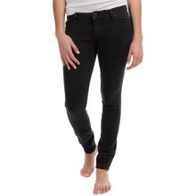 Hurley 81 Skinny Denim Jeggings (For Women) in Blackrider - Closeouts