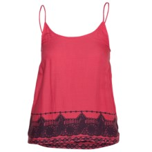 Hurley Big Ben Woven Camisole (For Women) in Swedish Red - Closeouts