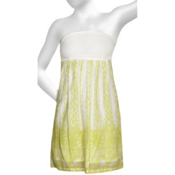 Hurley Big Ben Woven Dress - Strapless (For Women) in Stonewash