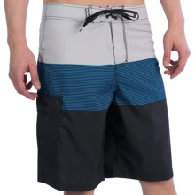 Hurley Blockade Boardshorts (For Men) in Concrete - Closeouts