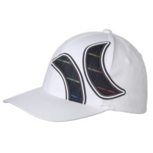 Hurley Board Short Resist Weld Flexfit Hat (For Men) in Multi/White - Closeouts