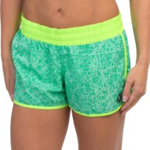 Hurley Dri-Fit Beachrider Running Shorts (For Women) in Menta - Closeouts