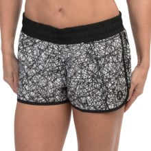 Hurley Dri-Fit Beachrider Running Shorts (For Women) in White - Closeouts