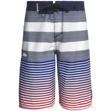 Hurley Echo Boardshorts (For Boys) in Navy/Red - Closeouts