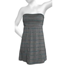 Hurley Featherweights Dress - Strapless (For Women) in Black - Closeouts