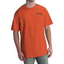 Hurley Go Surf Charlie T-Shirt - Short Sleeve (For Men) in Blaze Orange - Closeouts