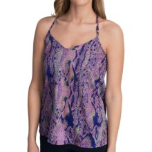 Hurley Isabel Tank Top - T-Back Strap (For Women) in Purple Crush - Closeouts