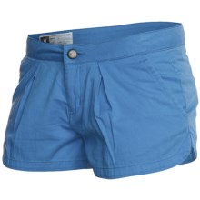 Hurley Lowrider Sunkissed Walkshorts - Cotton Twill (For Women) in French Blue - Closeouts
