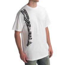 Hurley Marquee T-Shirt - Short Sleeve (For Men) in White - Closeouts