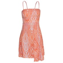 Hurley Naiad Tank Dress - Spaghetti Straps (For Women) in Conch Orange - Closeouts