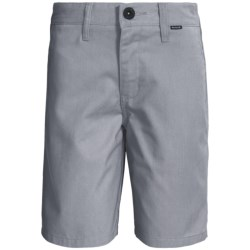 Hurley One and Only Chino Shorts (For Boys) in Cool Grey