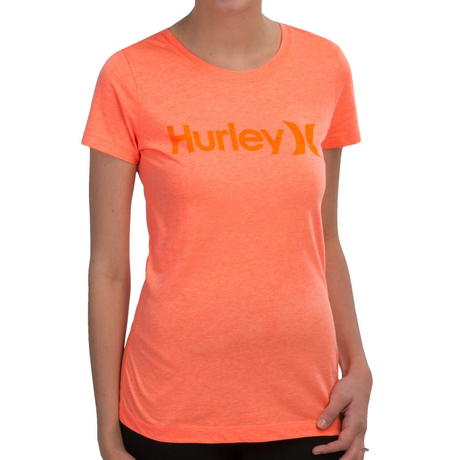 hurley one only perfect classic t shirt for women. Black Bedroom Furniture Sets. Home Design Ideas