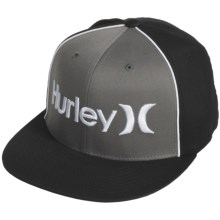 Hurley Only Corp FlexFit Hat (For Men) in Titanium Grey - Closeouts