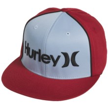 Hurley Only Corp  Hat - Flexfit® (For Men) in Glacier Blue - Closeouts