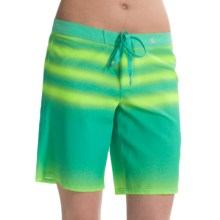 Hurley Phantom Beachrider Boardshorts (For Women) in Menta - Closeouts