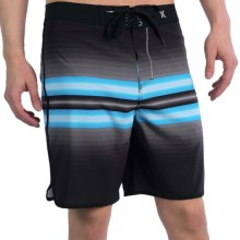 Hurley Phantom Block Party Warp 2.0 Boardshorts (For Men) in Black - Closeouts
