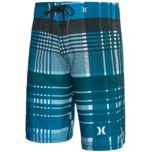 Hurley Phantom Catalina Boardshorts - Recycled Materials (For Men) in Cyan - Closeouts