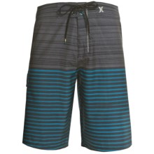 Hurley Phantom Charge Boardshorts (For Men) in Black - Closeouts