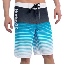 Hurley Phantom Froth Boardshorts (For Men) in Cyan - Closeouts