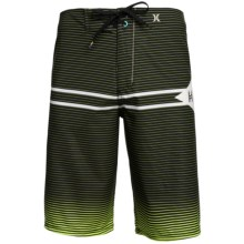 Hurley Phantom Version Boardshorts - Recycled Materials (For Men) in Neon Yellow - Closeouts