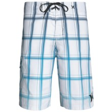 Hurley Puerto Rico Blend Boardshorts - Recycled Materials (For Men) in White - Closeouts