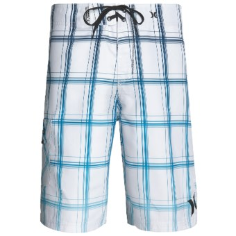 Hurley Puerto Rico Blend Boardshorts - Recycled Materials (For Men) in White