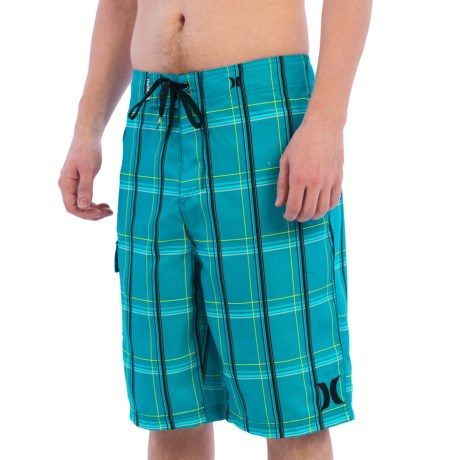 Hurley Puerto Rico Boardshorts - Recycled Materials (For Men) in Blue Lagoon