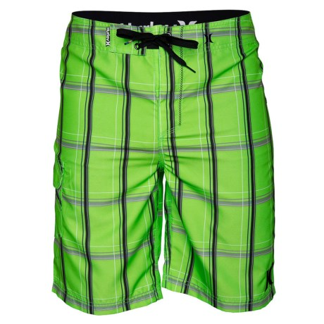 Hurley Puerto Rico Boardshorts - Recycled Materials (For Men) in Neon Green 2