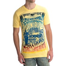 Hurley Rick Griffin Psychedelic Tri-Blend T-Shirt - Short Sleeve (For Men) in Heather Satyel - Closeouts